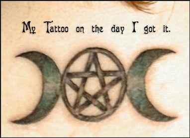 Triple Goddess Tattoo Designs